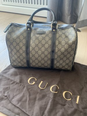 Gucci Sac à main gris brun-brun noir