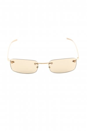 Gucci Gafas crema look casual