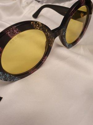 Gucci Lunettes de soleil rondes noir