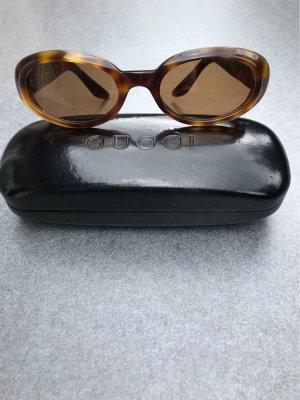 Gucci Brille mit Etui in schwarz
