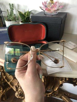Gucci Glasses gold-colored
