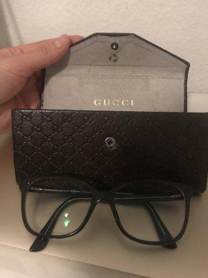 Gucci Glasses black-light grey mixture fibre