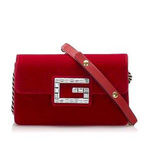 Gucci Torba na ramię czerwony Bawełna