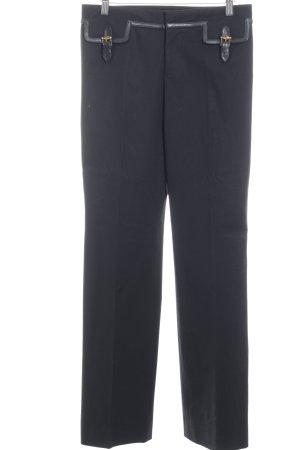 Gucci Bundfaltenhose schwarz Elegant