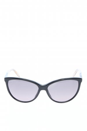 Gucci Butterfly bril zwart casual uitstraling