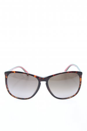 Gucci Butterfly Brille mehrfarbig Casual-Look