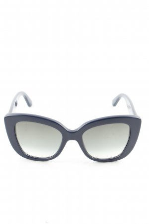 Gucci Butterfly Brille blau Farbverlauf Business-Look