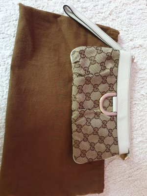 GUCCI Canvas Clutch/Portemonnaie