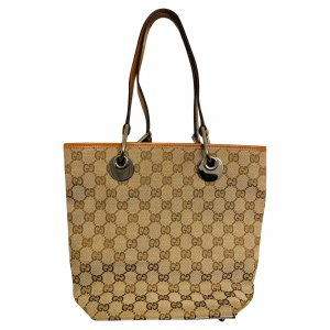 GUCCI Canvas Handtasche