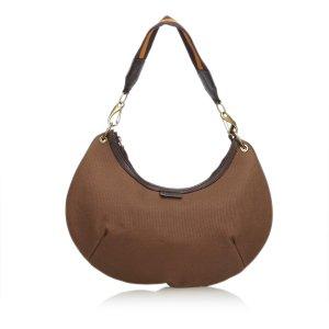 Gucci Canvas Hobo Bag