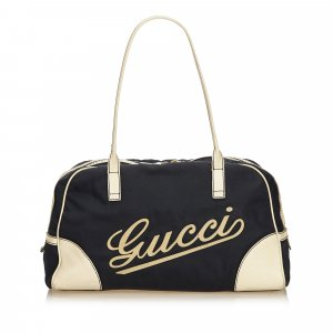 Gucci Canvas Parana Boulevard Boston Bag