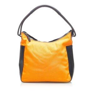 Gucci Sac porté épaule orange