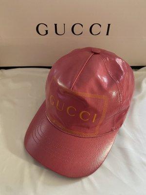 Gucci Gorra de béisbol rosa