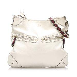 Gucci Capri Ranch Kid Leather Hobo Bag