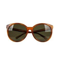 Gucci Lunettes de soleil rondes bronze-doré