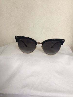 Gucci Butterfly Glasses black-gold-colored metal