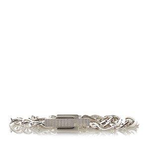 Gucci Cinturón color plata metal