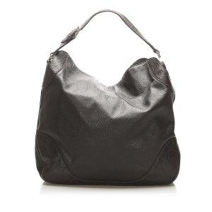 Gucci Bolso de compra marrón oscuro Cuero