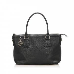 Gucci Charmy Leather Satchel