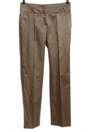 Gucci Anzughose bronzefarben Casual-Look