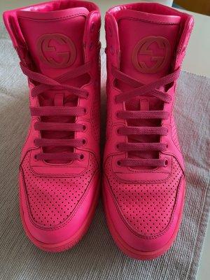 Gucci Coda Sneakers Neon pink