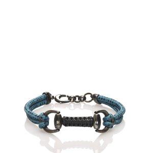 Gucci Bracelet bleu coton