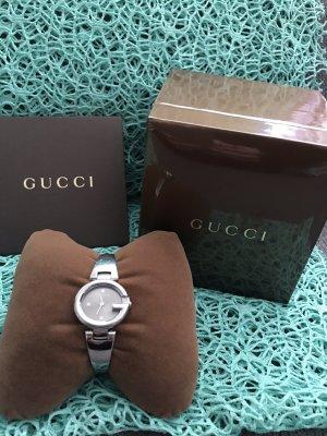 Gucci Stojak na zegarek srebrny