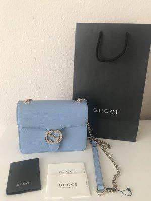 Gucci Borsa a spalla azzurro