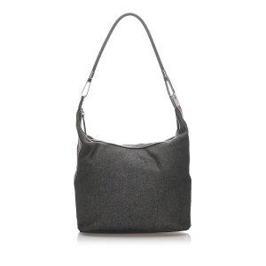 Gucci Denim Web Shoulder Bag