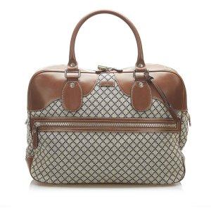 Gucci Diamante Canvas Handbag