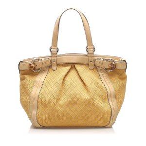 Gucci Diamante Canvas Tote Bag