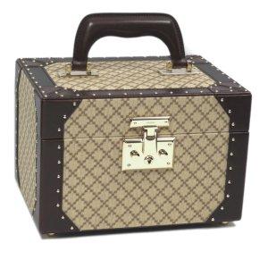 Gucci Diamante Canvas Vanity Bag