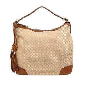 Gucci Diamante Eva Canvas Hobo Bag