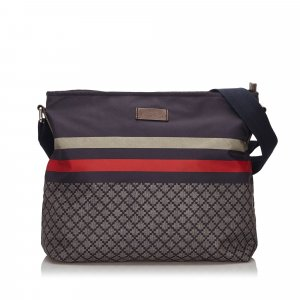 Gucci Diamante Nylon Crossbody Bag