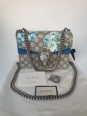 Gucci Dionysus mini Blau Blumen