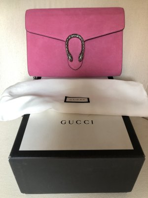 Gucci Dionysus wallet in chain pink