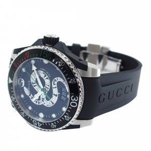 Gucci Watch black stainless steel