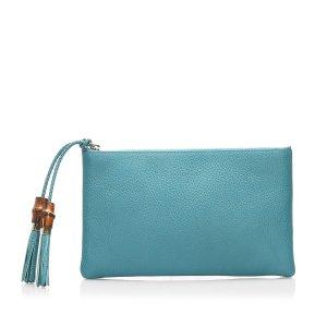 Gucci Dollar Calf Clutch Bag