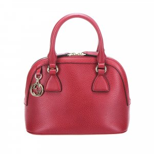 Gucci Dome Leather Satchel