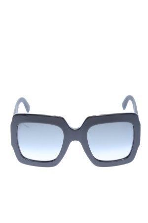 Gucci eckige Sonnenbrille blau Casual-Look