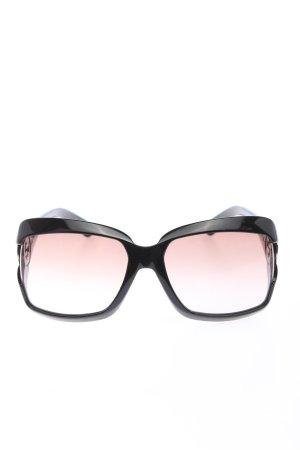 Gucci Gafas de sol cuadradas negro look casual