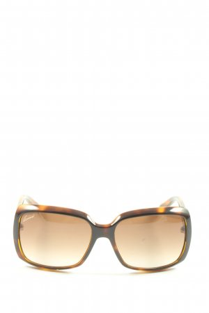 Gucci eckige Sonnenbrille mehrfarbig Casual-Look