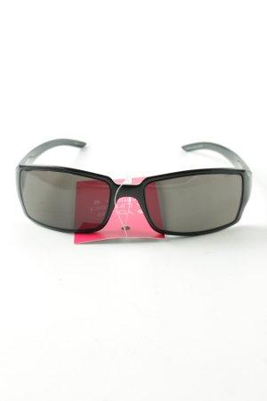 Gucci Hoekige zonnebril zwart casual uitstraling