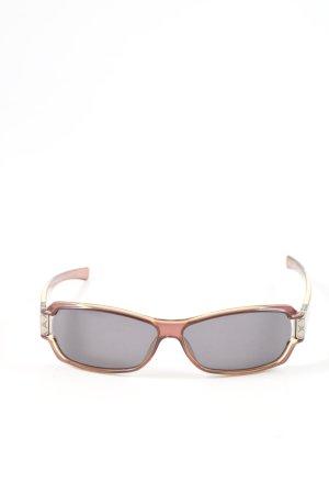 Gucci Angular Shaped Sunglasses brown casual look