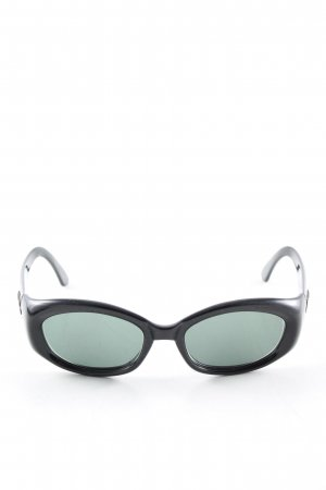 Gucci Gafas de sol cuadradas negro-caqui look casual