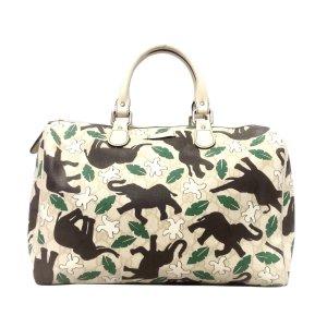 Gucci Elephant Print Joy PVC Boston Bag