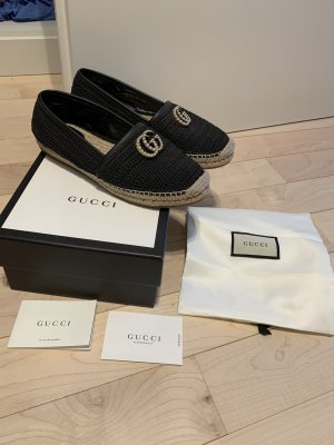 Gucci Espadrille sandalen veelkleurig