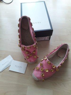 Gucci espadrilles pink Gr 40