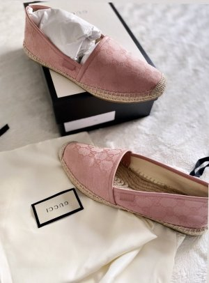 Gucci Espadrille Sandals rose-gold-coloured
