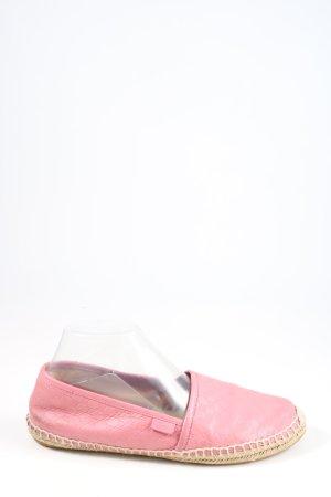 Gucci Alpargatas rosa look casual